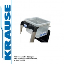 KRAUSE 8-litrowe wiadro do drabin Secury 200006